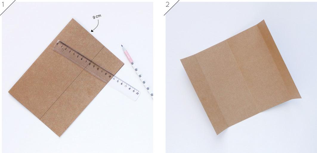Joli Jour J - DIY Calendrier perpétuel en papier : tuto 1