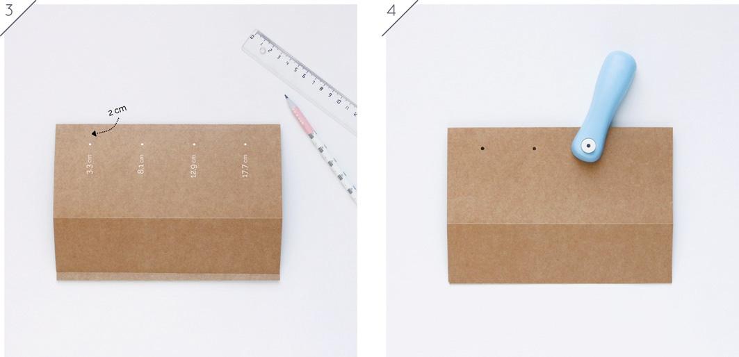 Joli Jour J - DIY Calendrier perpétuel en papier : tuto 2