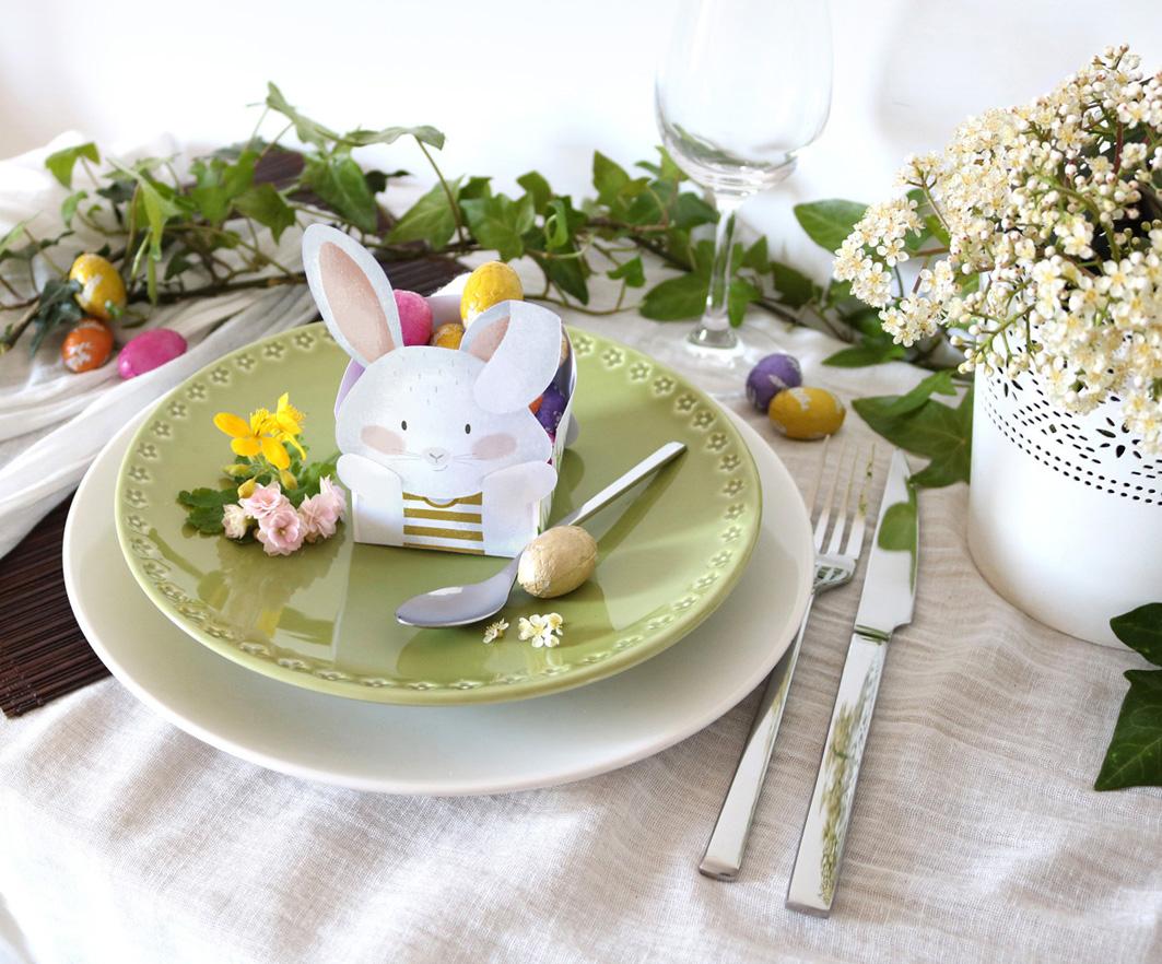 Joli Jour J - DIY de Pâques - La box lapin